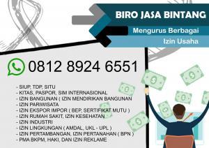 Biaya Jasa Pembuatan SIUP TDP Online
